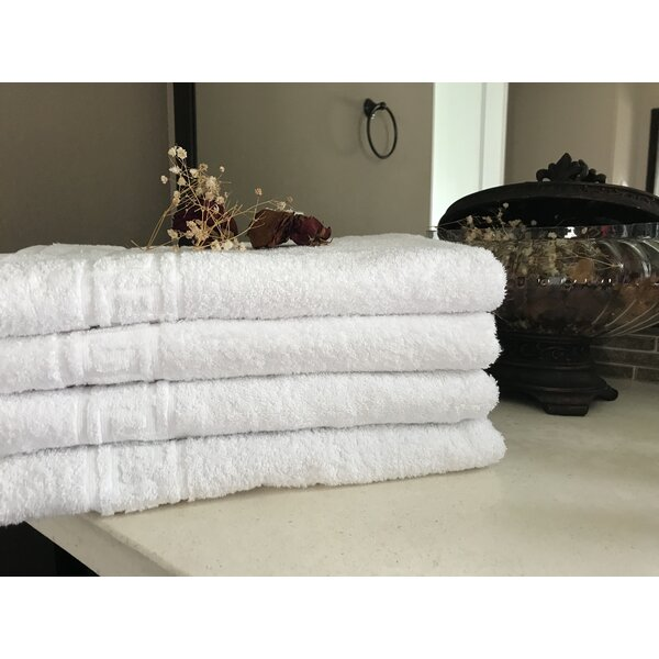 100% Cotton Bath Towel (Set of 12) by Winston Porter